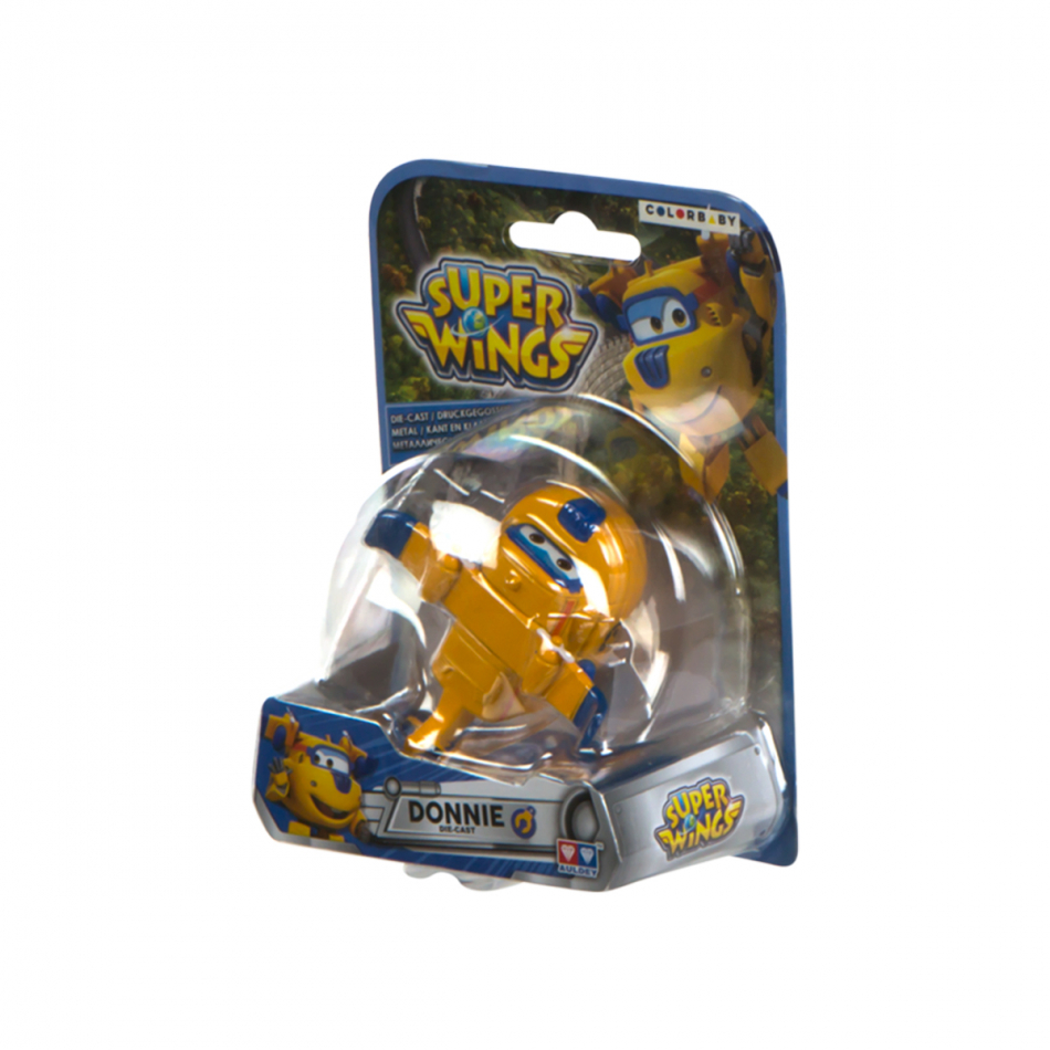 Figura die cast Super Wings Donnie