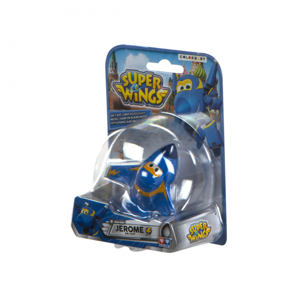 Figura die cast Super Wings Jerome