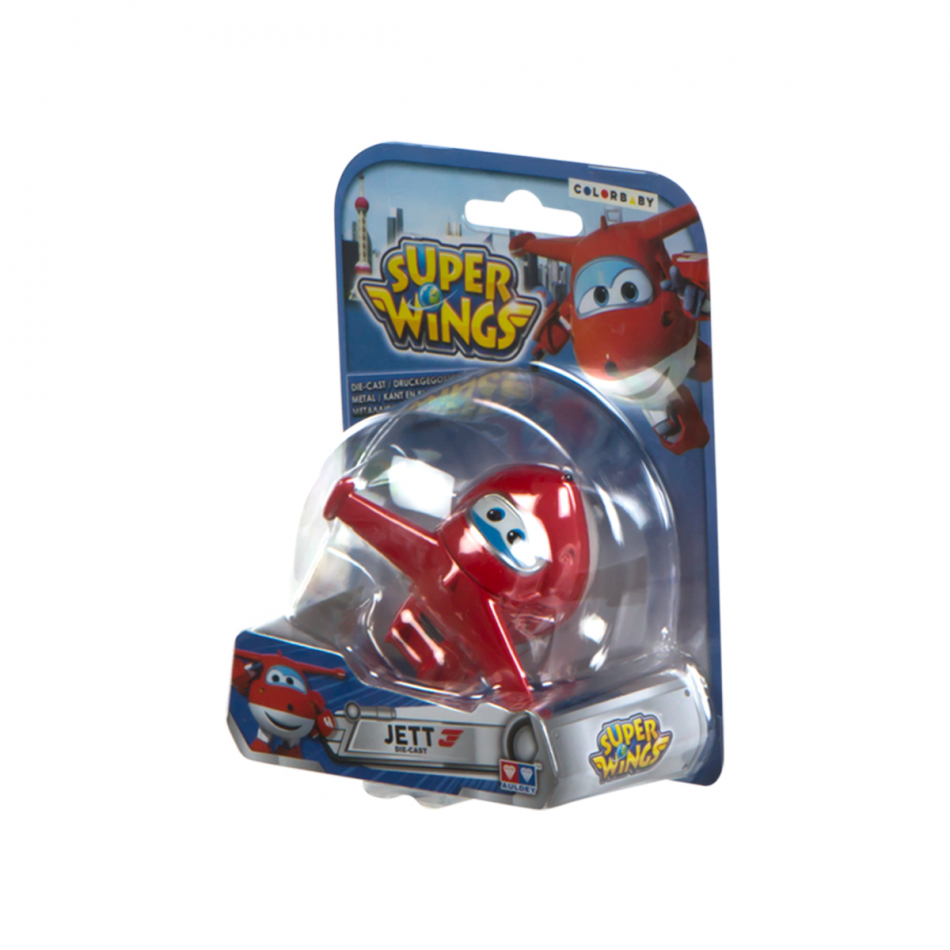 Figura die cast Super Wings Jett