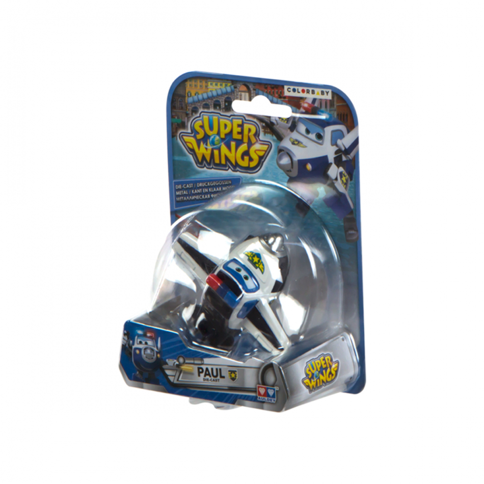 Figura die cast Super Wings Paul