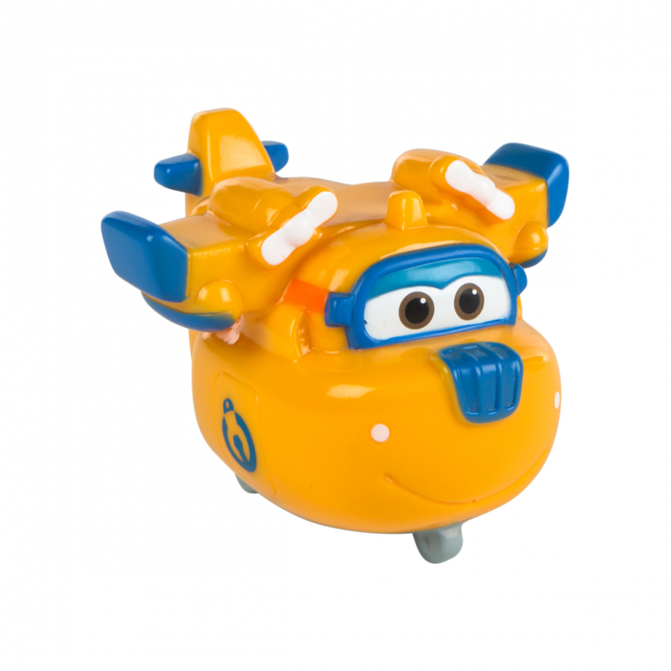 Figura PVC baño Super Wings Donnie