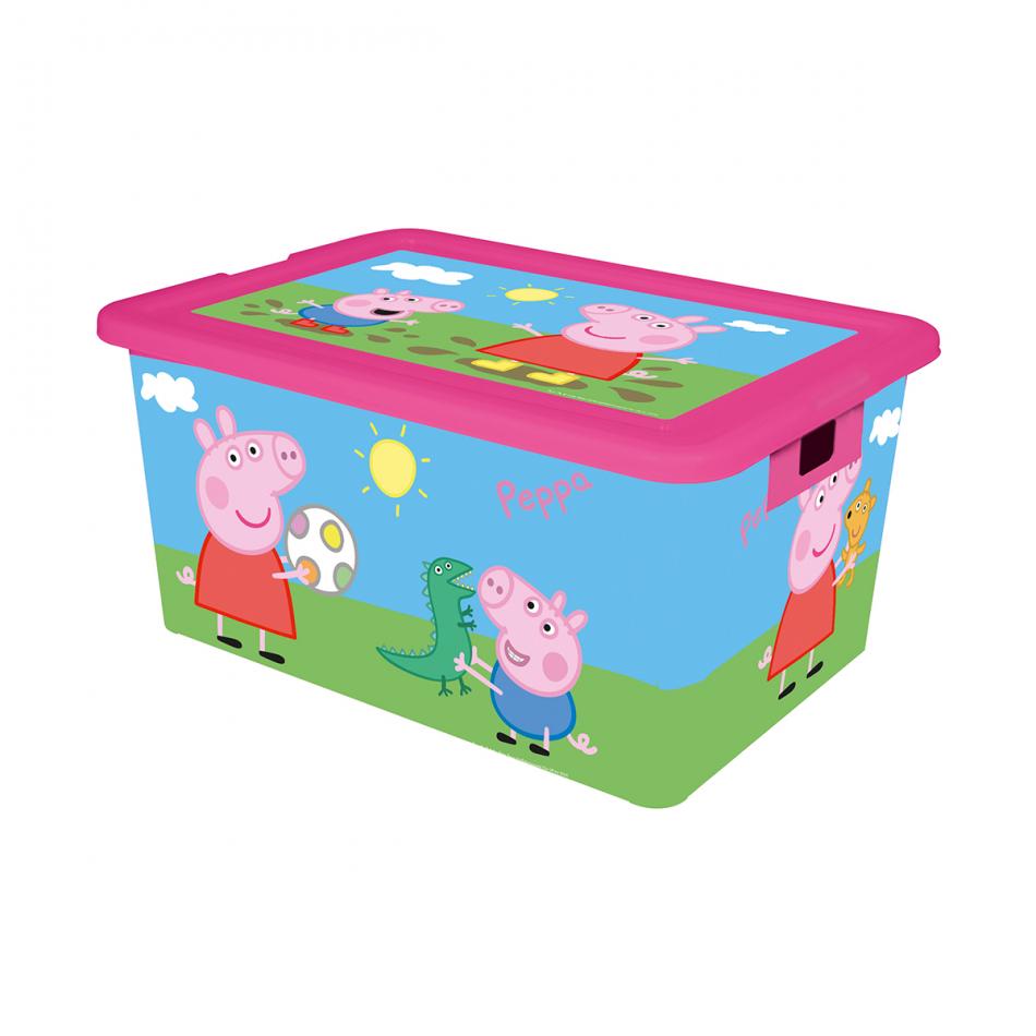 Caja de ordenación 35L Peppa Pig