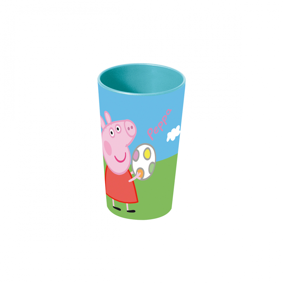 Vaso apilable pp 270ml. Peppa Pig