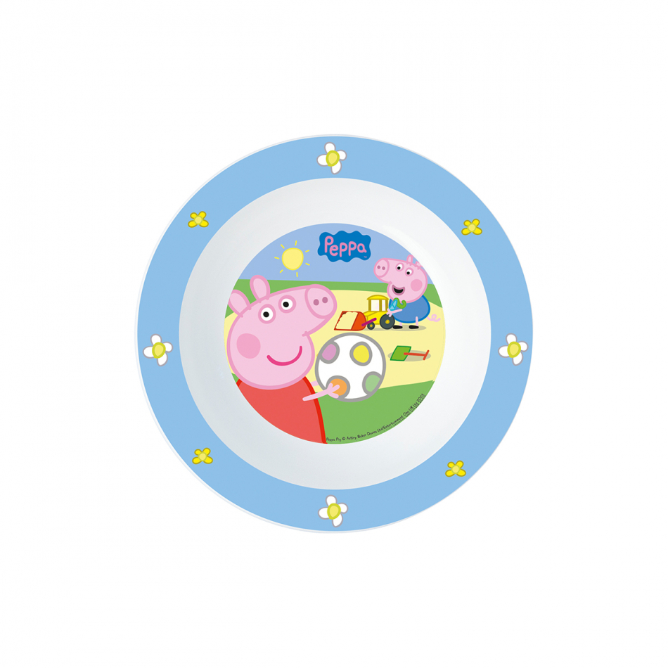Cuenco micro kids Peppa Pig