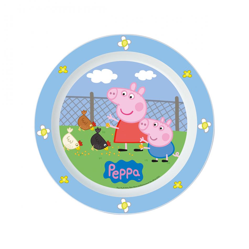 Plato micro Peppa Pig