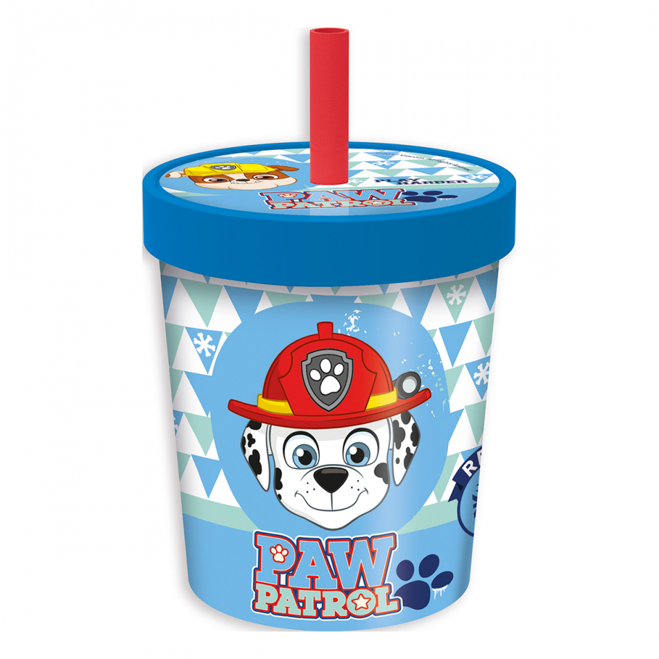 Vaso caña ice cream - daily use 560ml. La Patrulla Canina