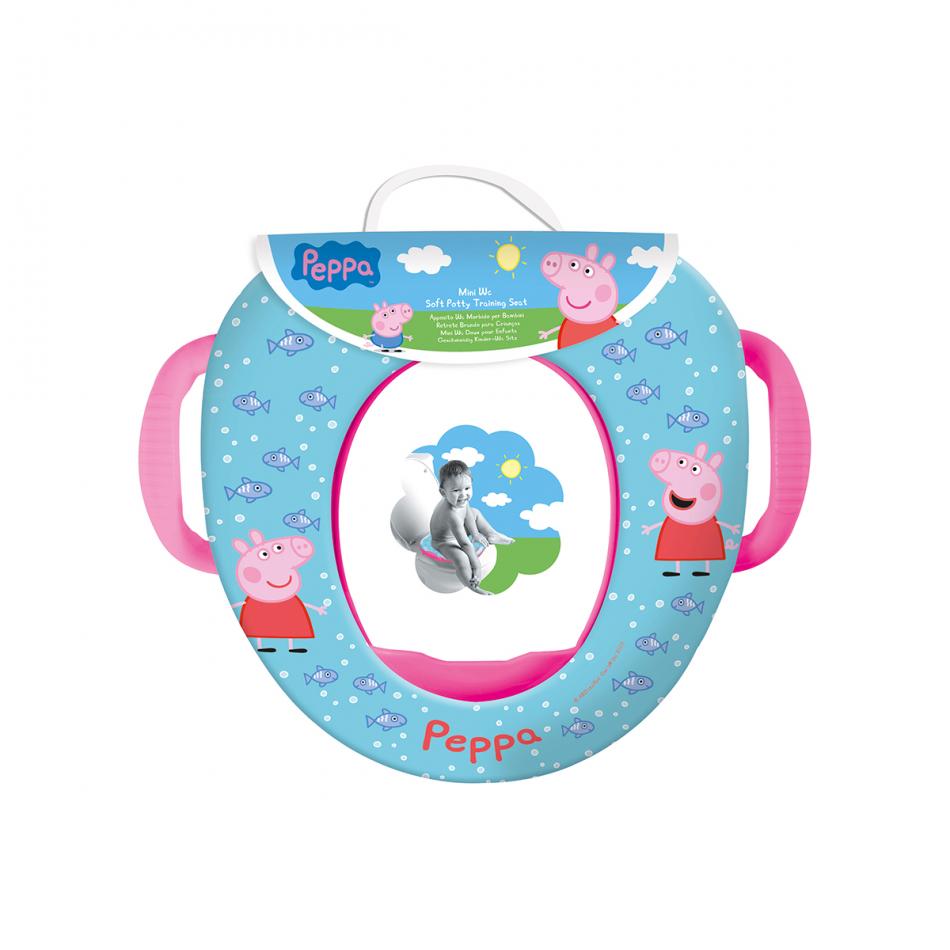 Mini WC con asas Peppa Pig