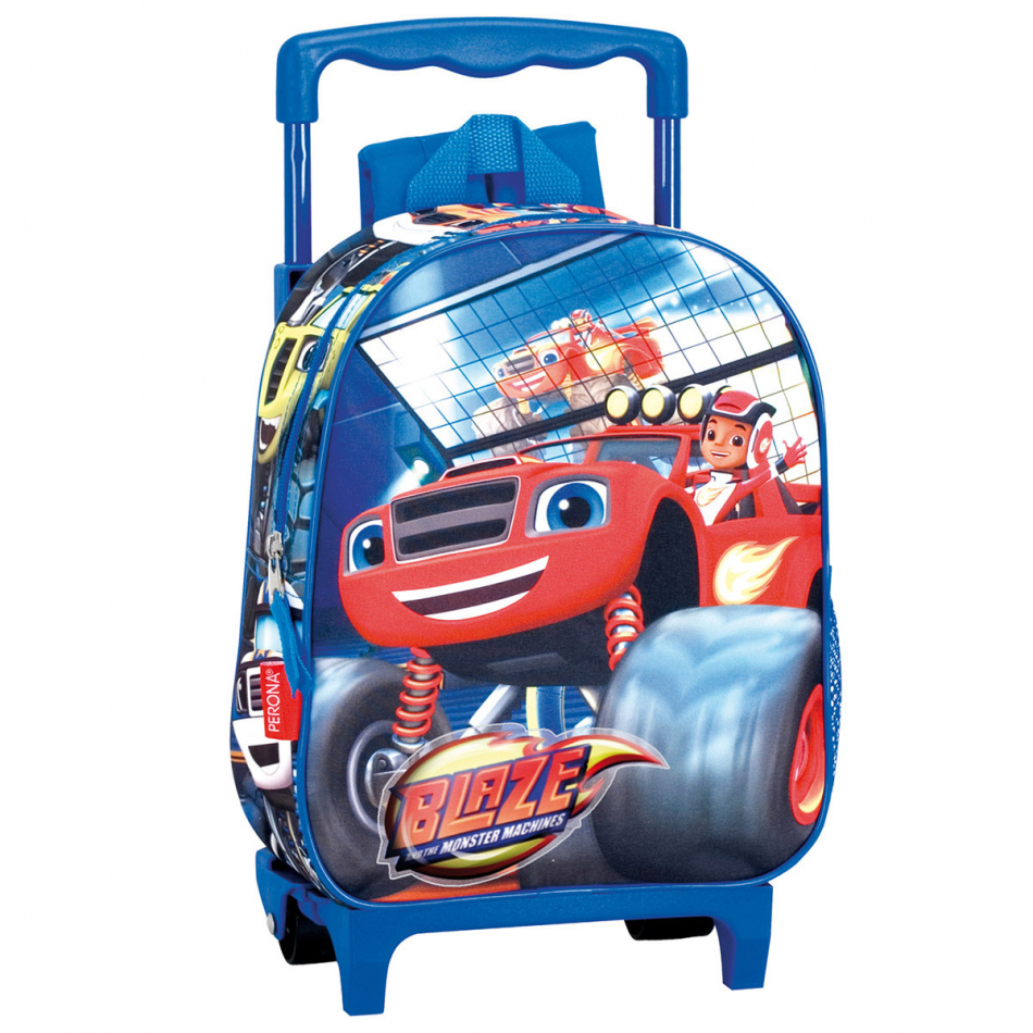 Carro guardería Blaze and the Monster machines Jump