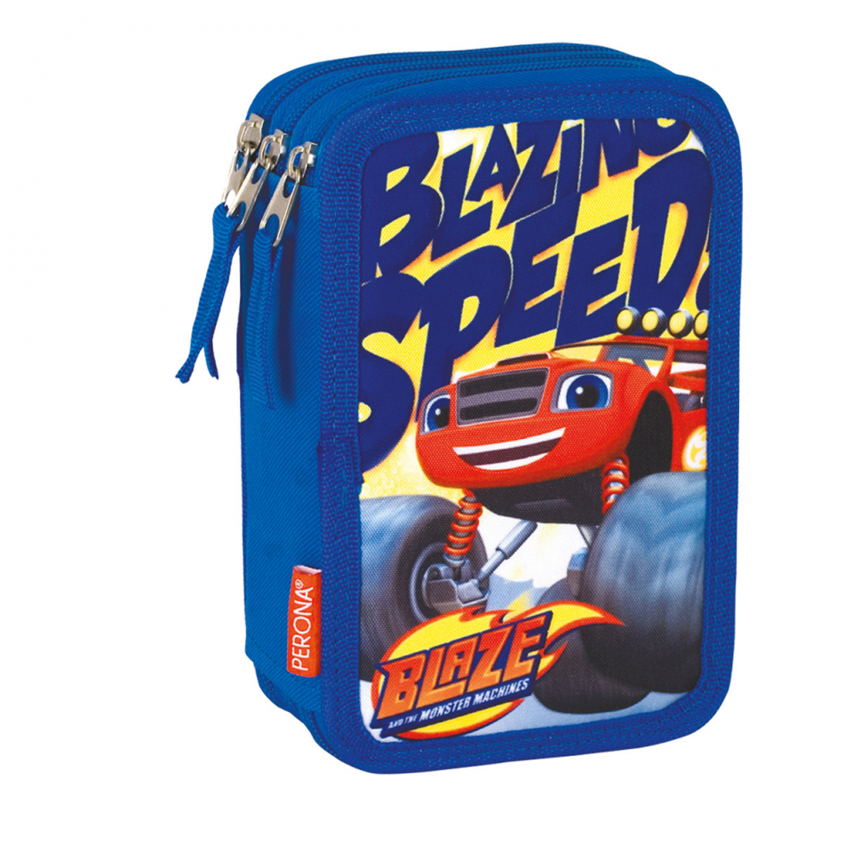 Estuche de 3 pisos Blaze and the Monster machines Speed