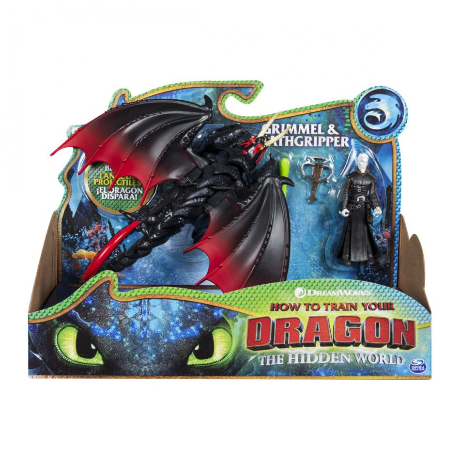 Dragones Dragón y Vikingo