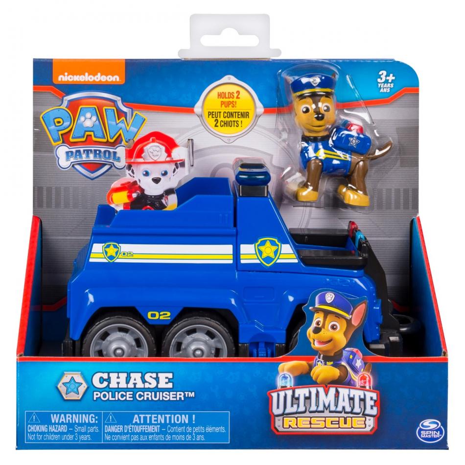 Vehículo con figura Chase Ultimate Rescue