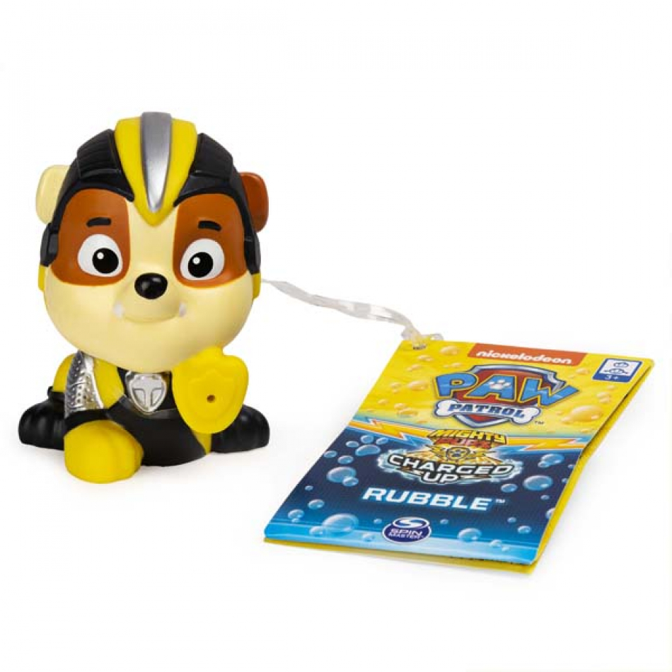 La Patrulla Canina Glup Glup Mighty Pups - Rubble