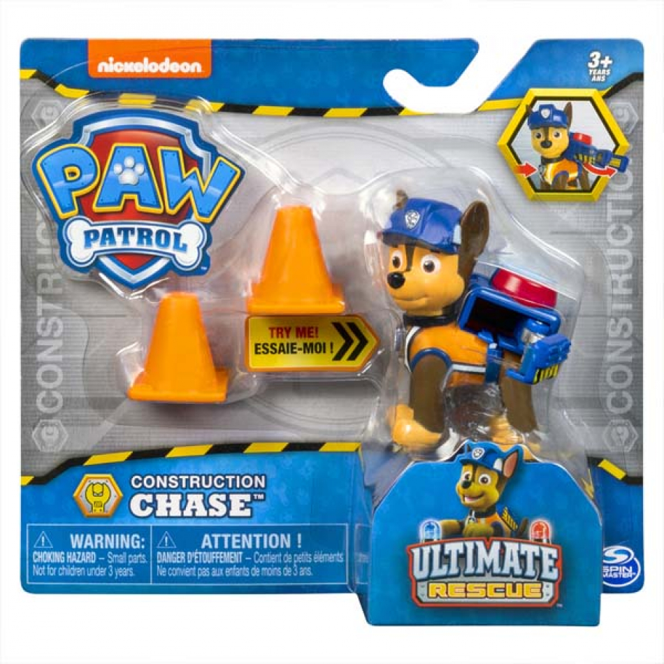 La Patrulla Canina Pack Accion Ultimate Construction - Chase