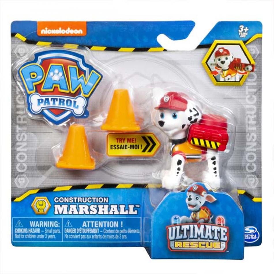 La Patrulla Canina Pack Accion Ultimate Construction - Marshall