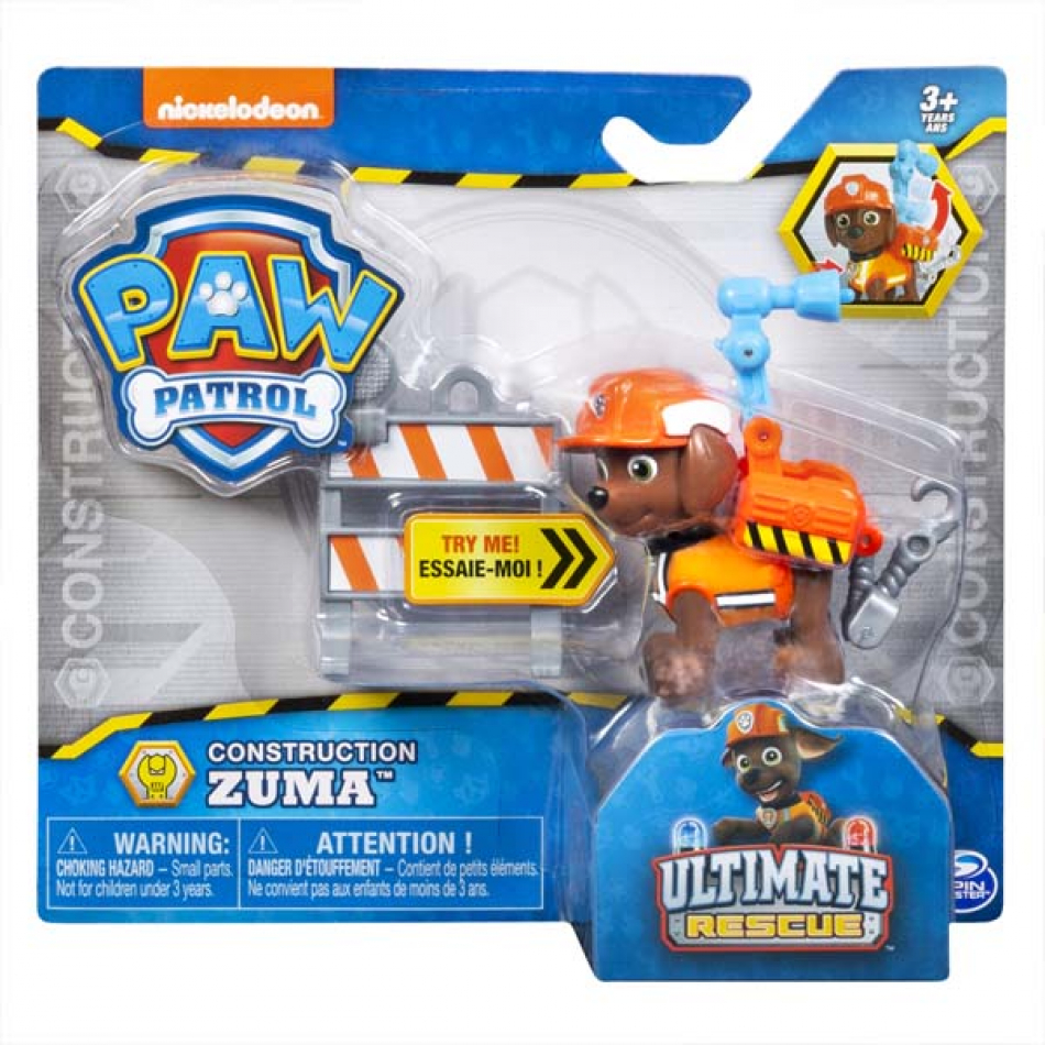 La Patrulla Canina Pack Accion Ultimate Construction - Zuma