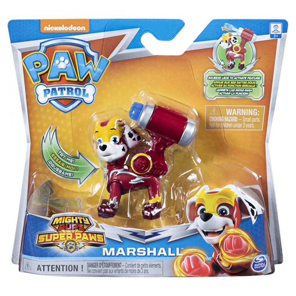 La Patrulla Canina Figuras Heroes Mighty Pups Marshall