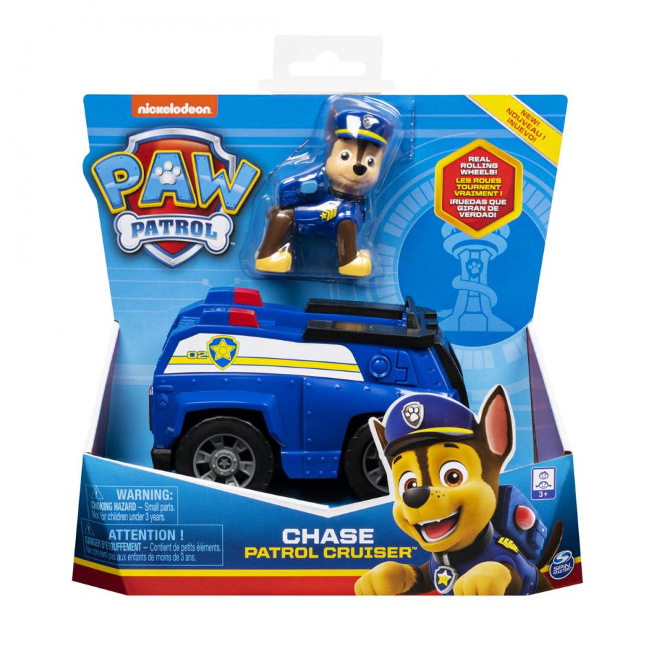 La Patrulla Canina Vehículo + Personaje Chase