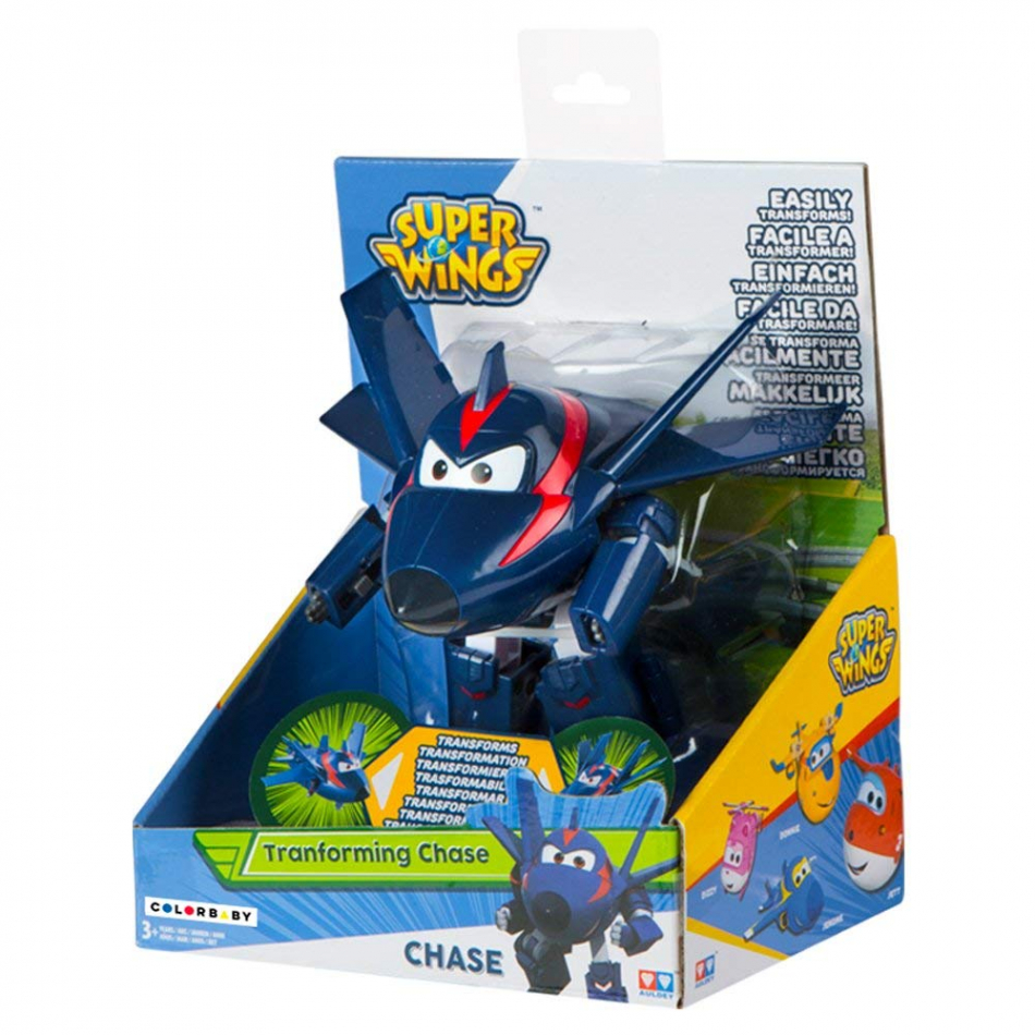 Transforming Super Wings Chace