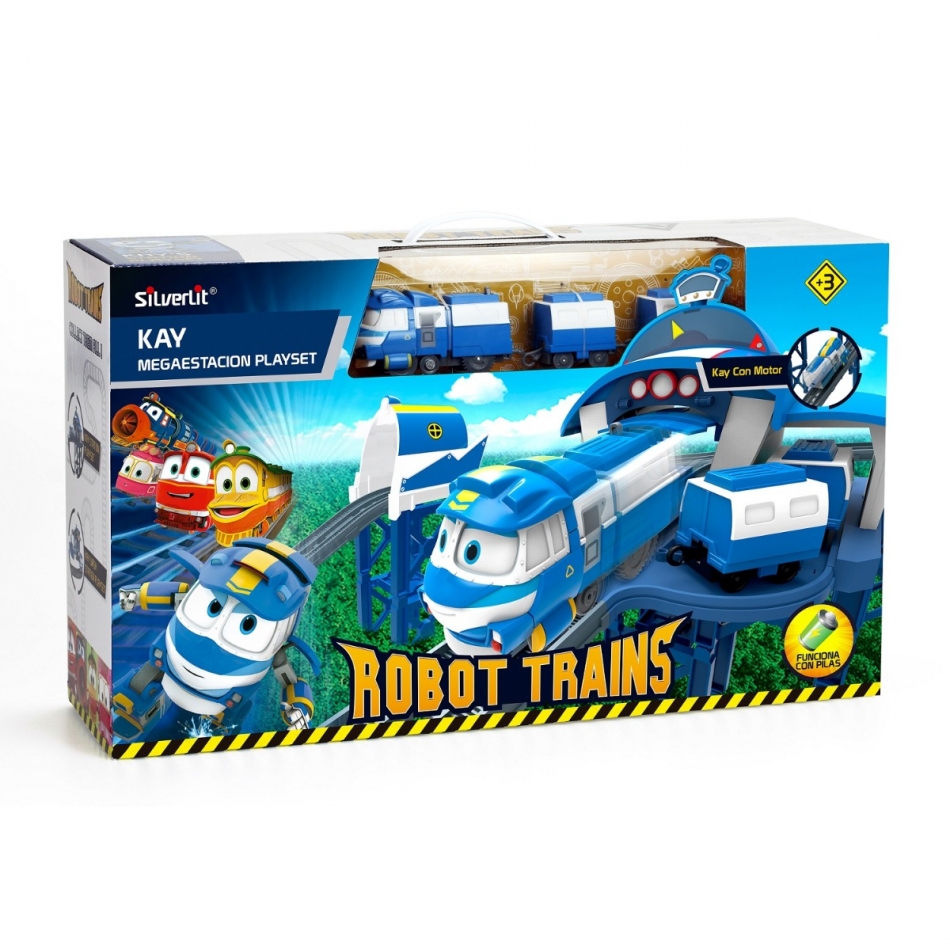 Megaplayset Estación de Kay Robot Trains