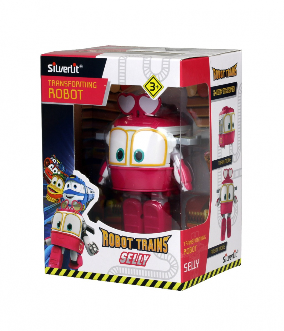 Figura transformable Selly Robot Trains