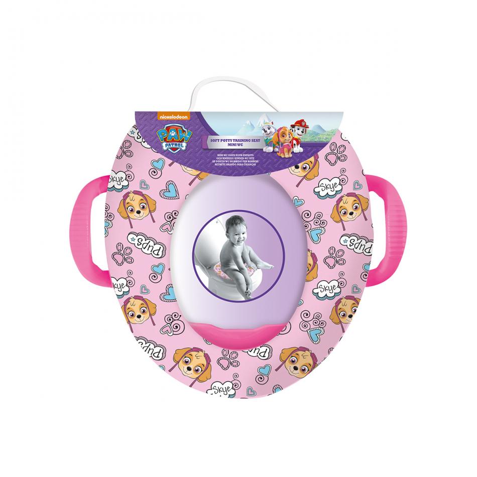Mini WC con asas La Patrulla Canina Skye
