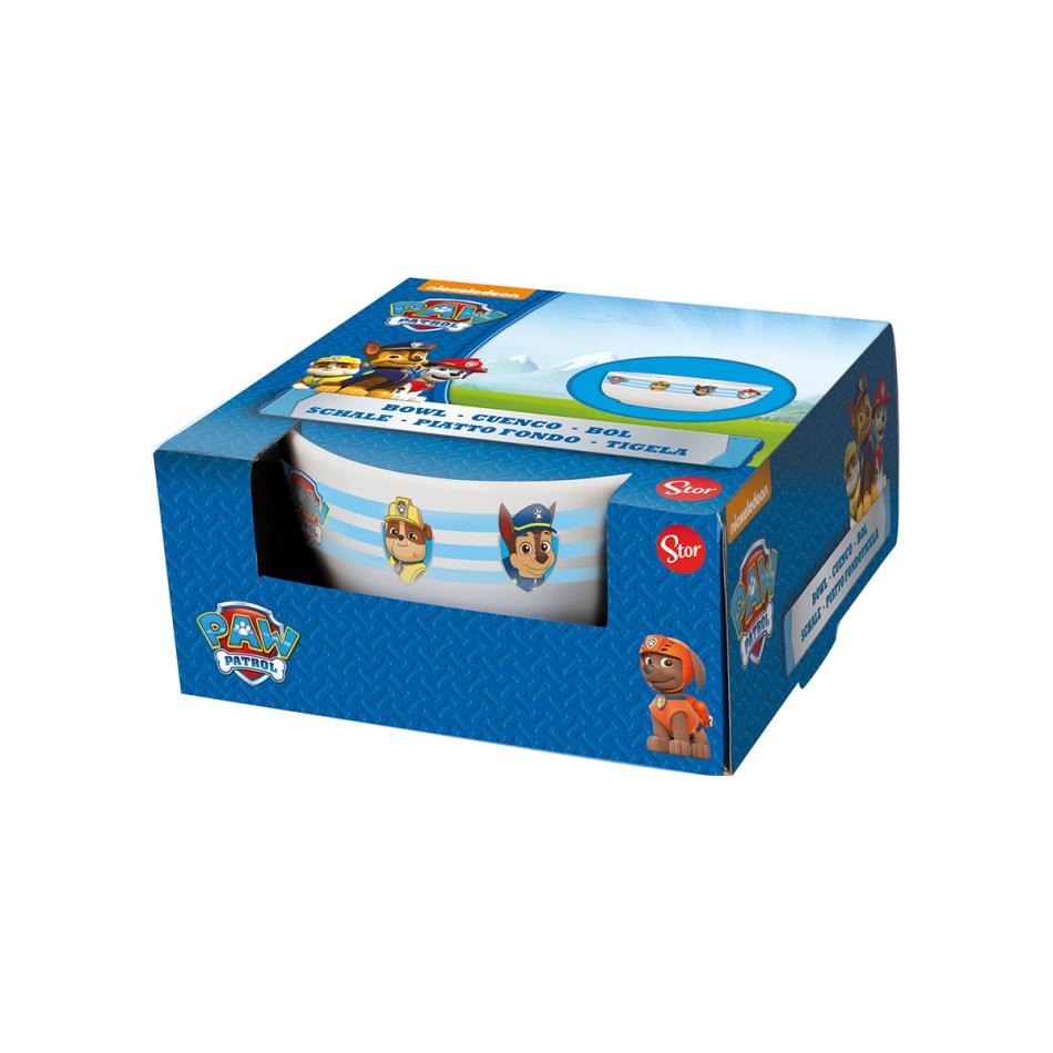Cuenco cerámica 19 oz en caja regalo La Patrulla Canina