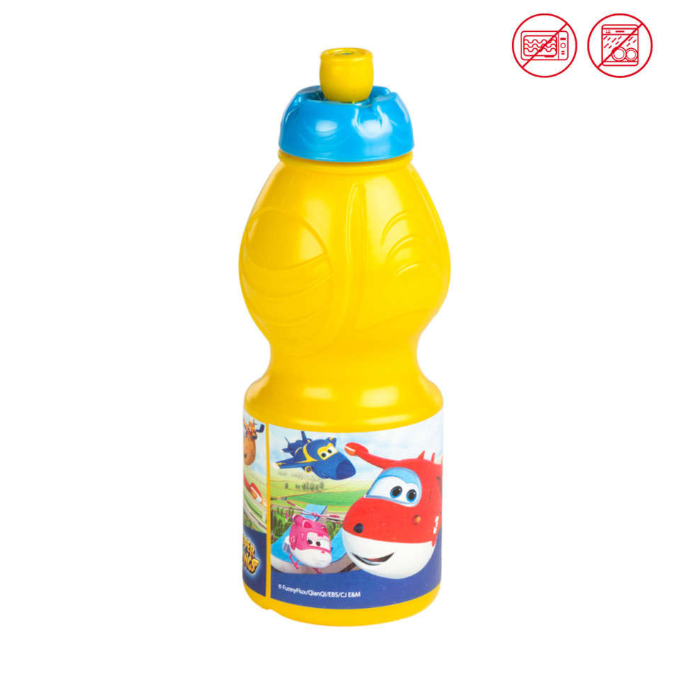 Botella sport 400 ml. Super Wings