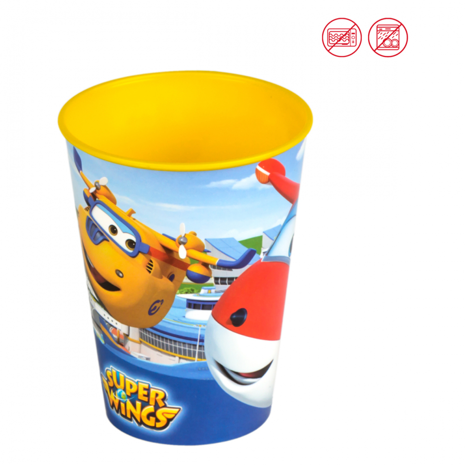 Vaso Value 260 ml. Super Wings