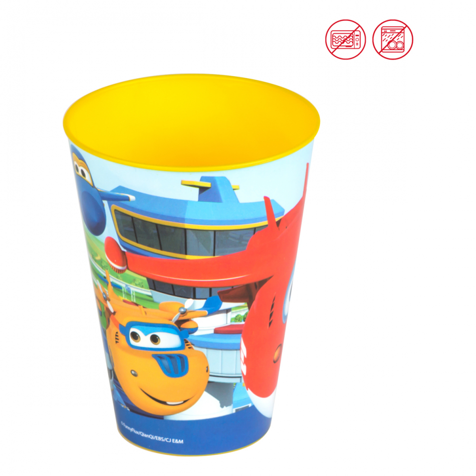 Vaso Value 430 ml. Super Wings