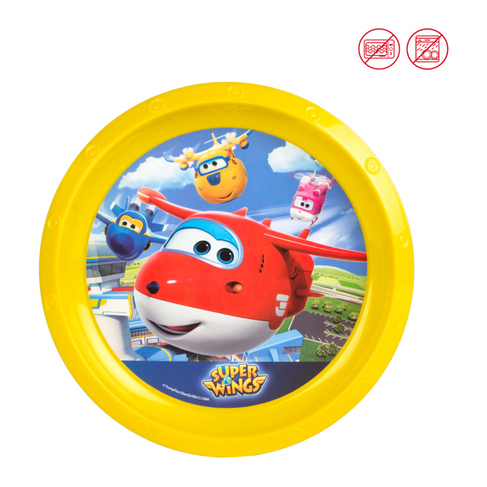 Plato Value diámetro 21 cm. Super Wings