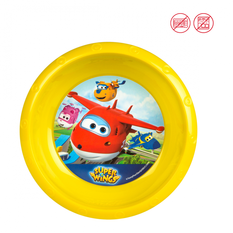 Cuenco Value diámetro 17 cm. Super Wings