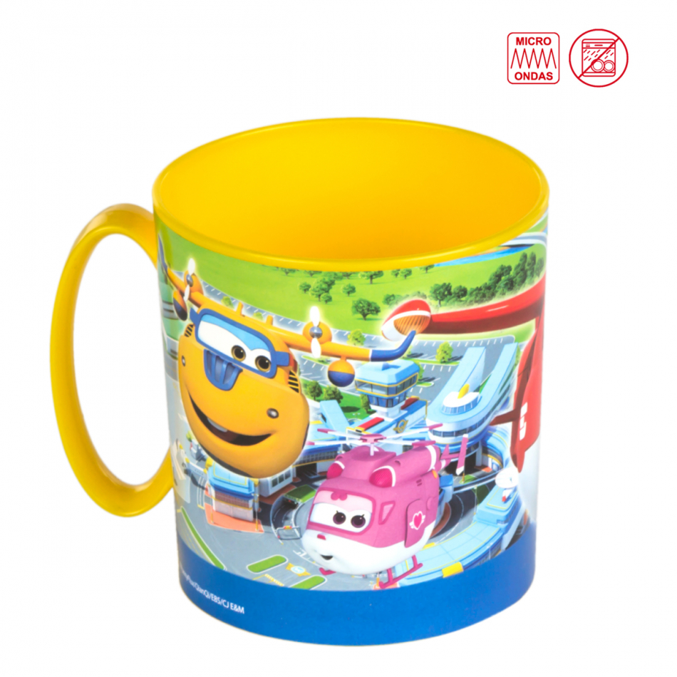 Taza microondas 350 ml. Super Wings