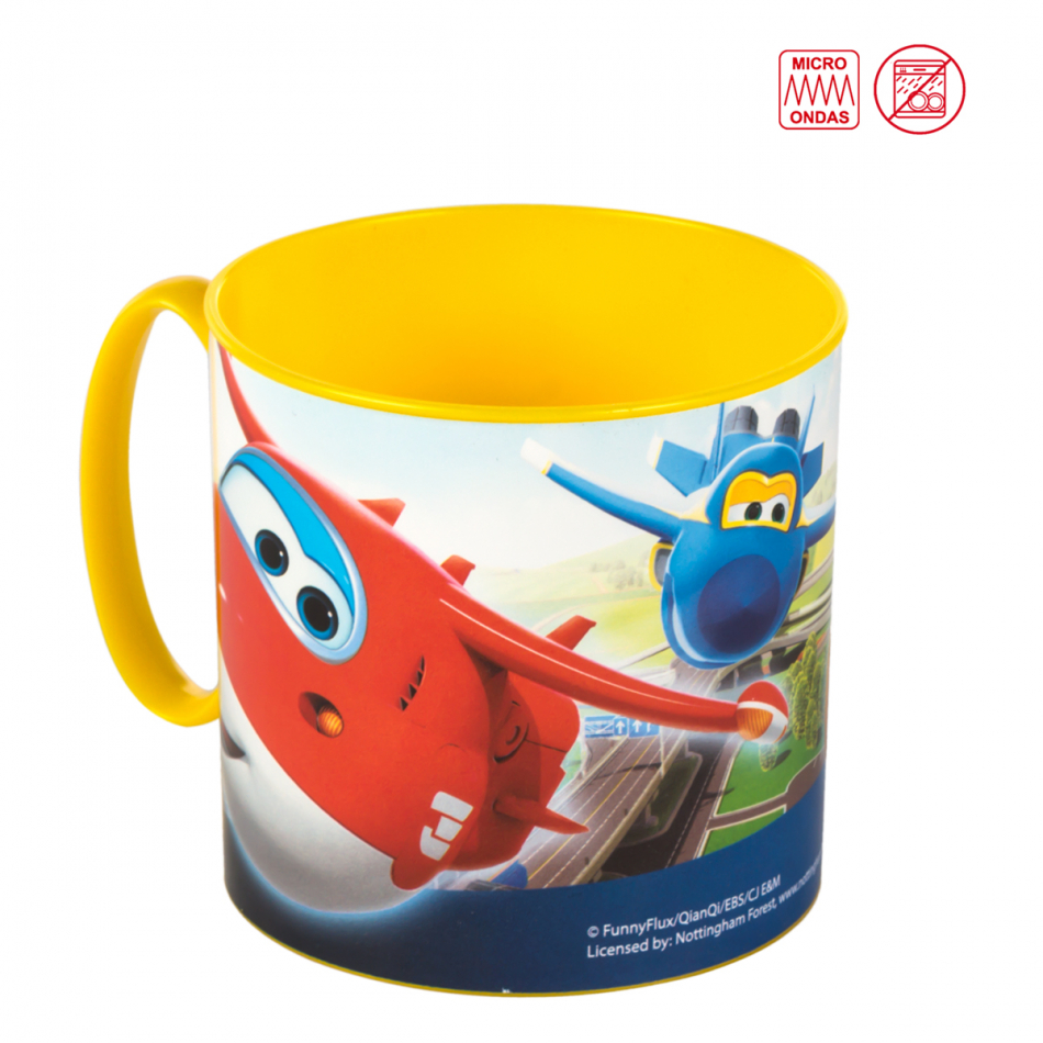 Taza Value microondas 265 ml. Super Wings