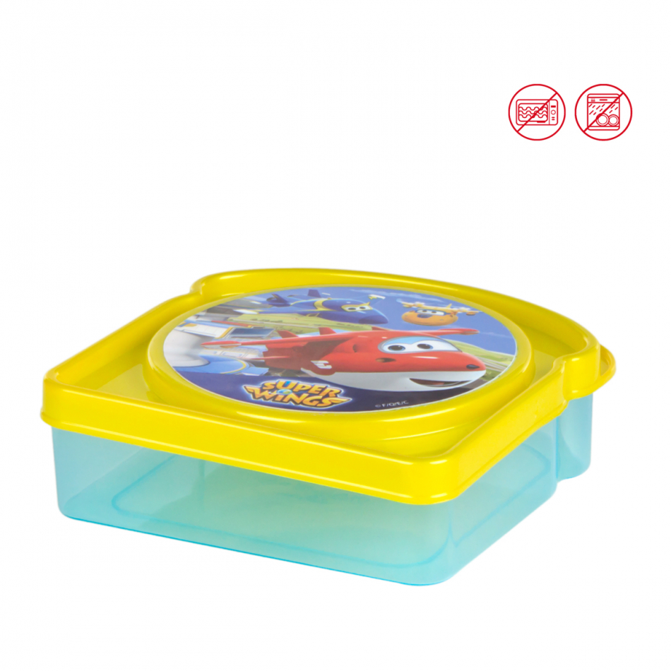 Sandwichera Super Wings pan de molde