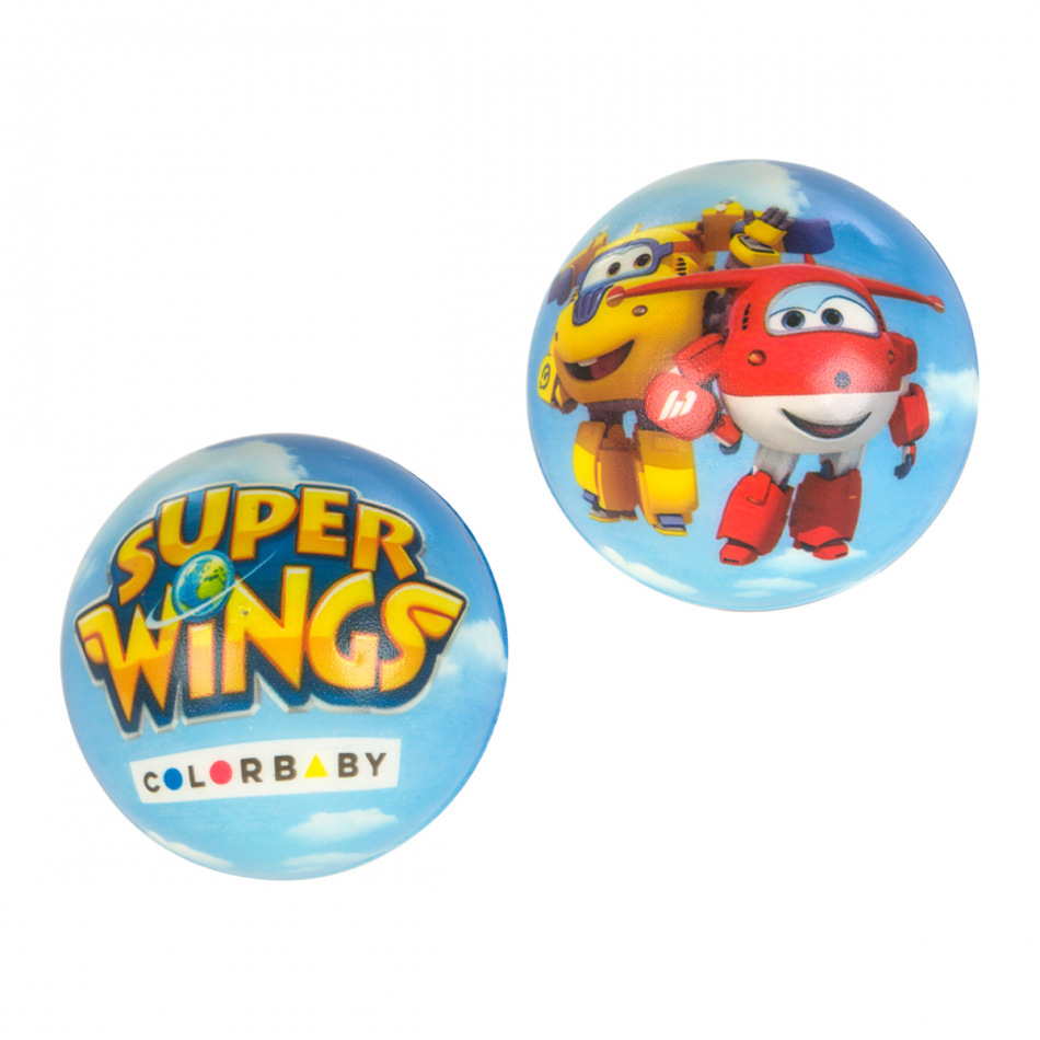 Pelota Espuma de 6 cm. Super Wings
