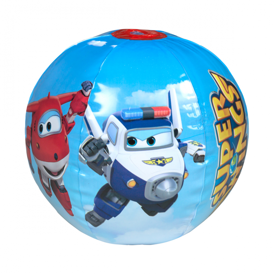 Pelota playa diámetro 40 cm. Super Wings