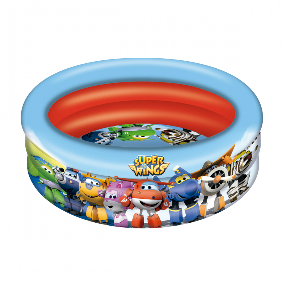 Piscina 3 aros diámetro 150 cm. Super Wings