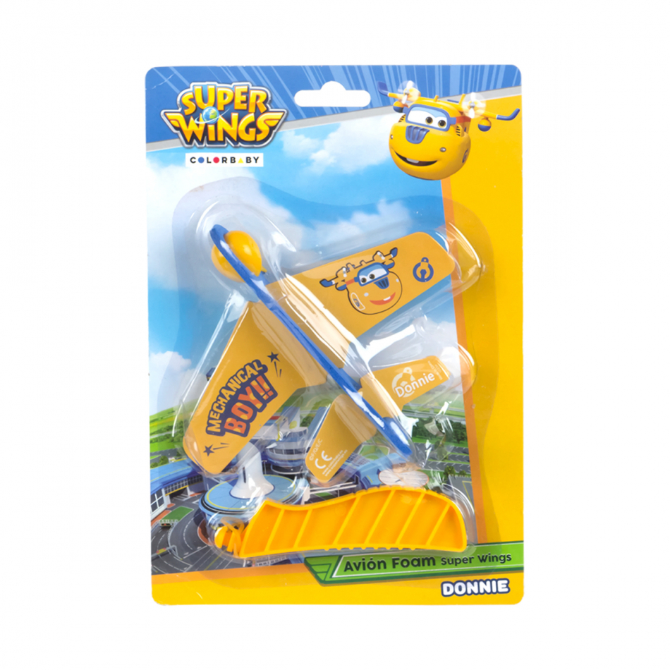 Blister avión foam Super Wings Donnie