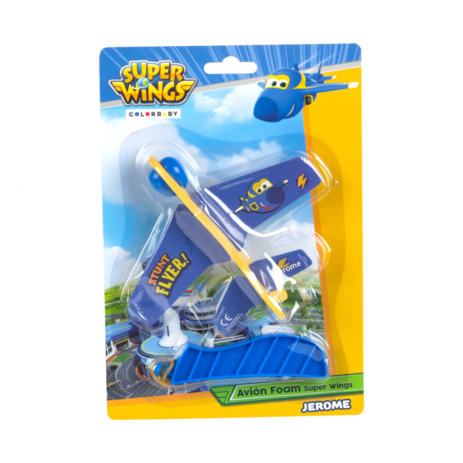 Blister avión foam Super Wings Jerome