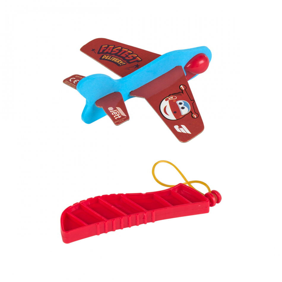 Blister avión foam Super Wings Jett