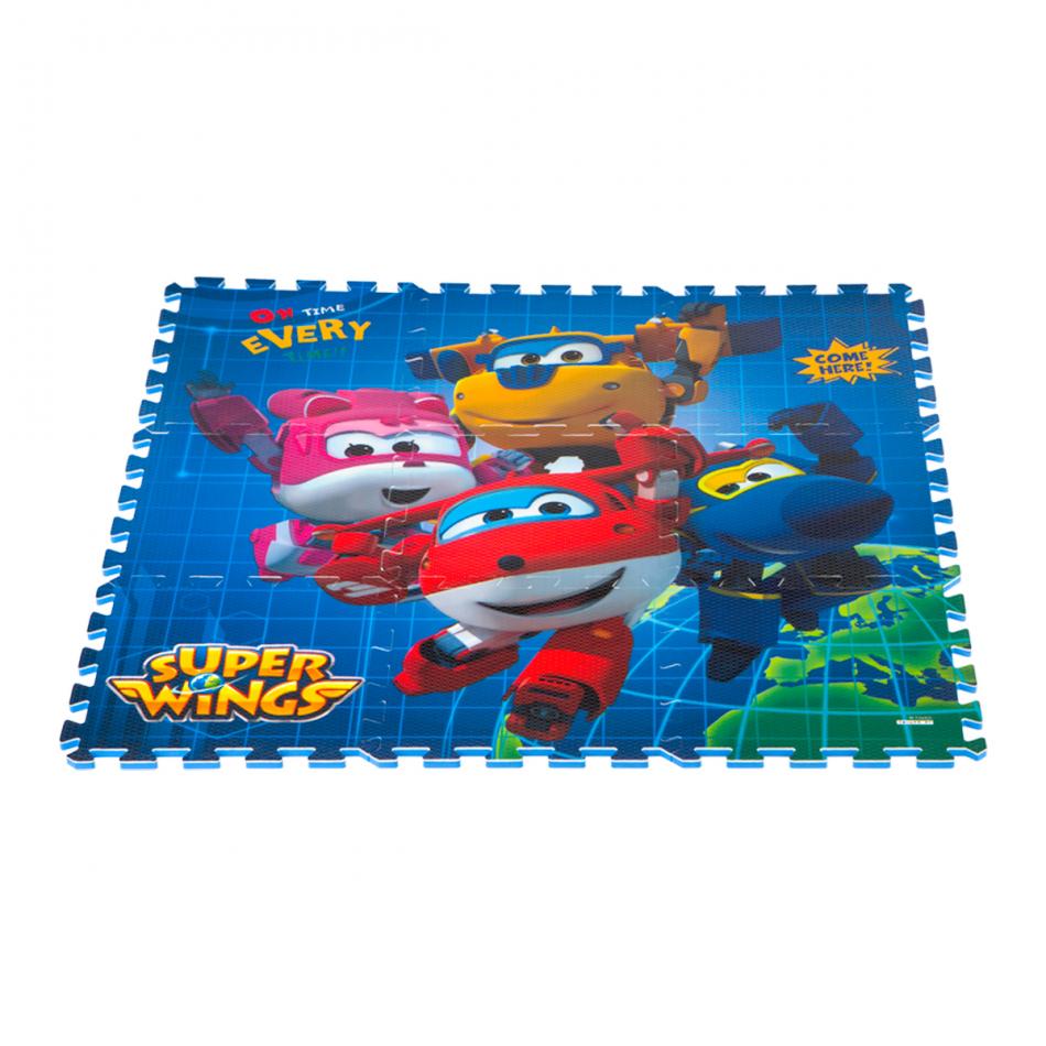 Alfombra puzzle Eva 90 x 90 cm. Super Wings Grupo