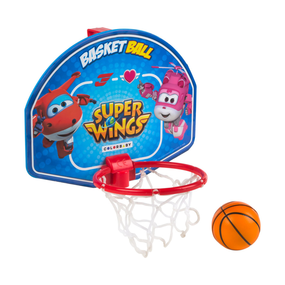 Juego mini basket 28 x 22 cm. Super Wings