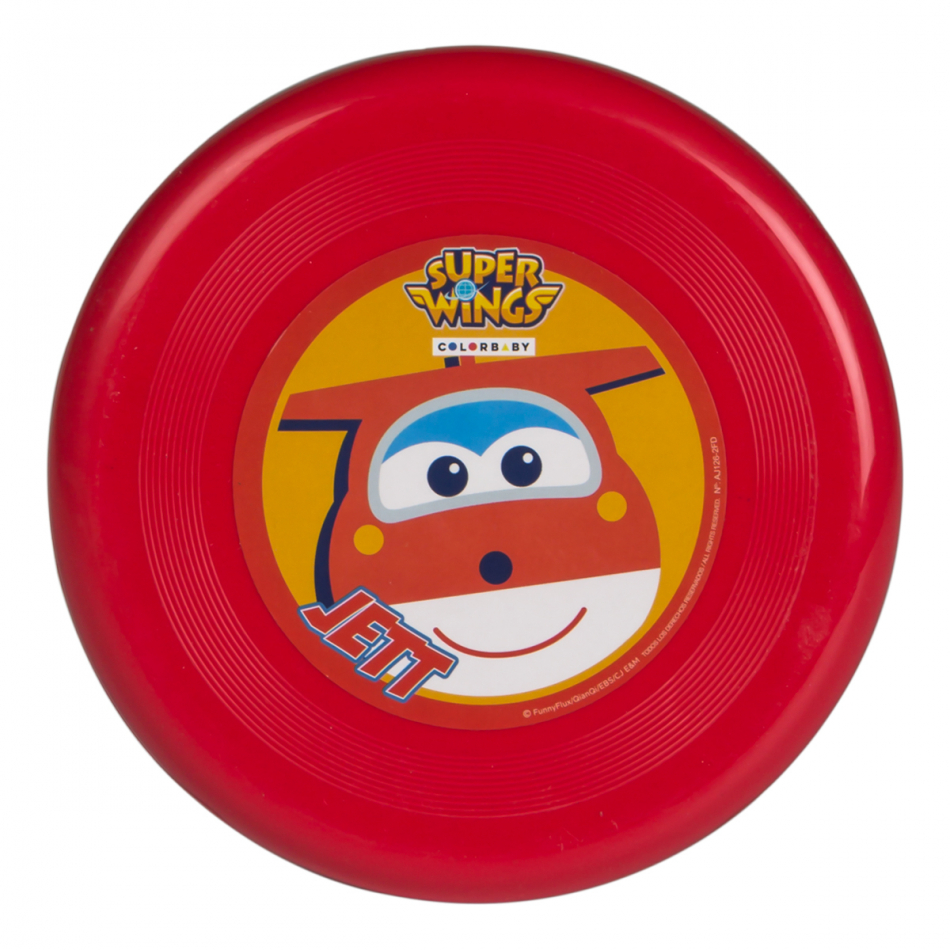 Disco volador diámetro 20 cm. Super Wings Jett
