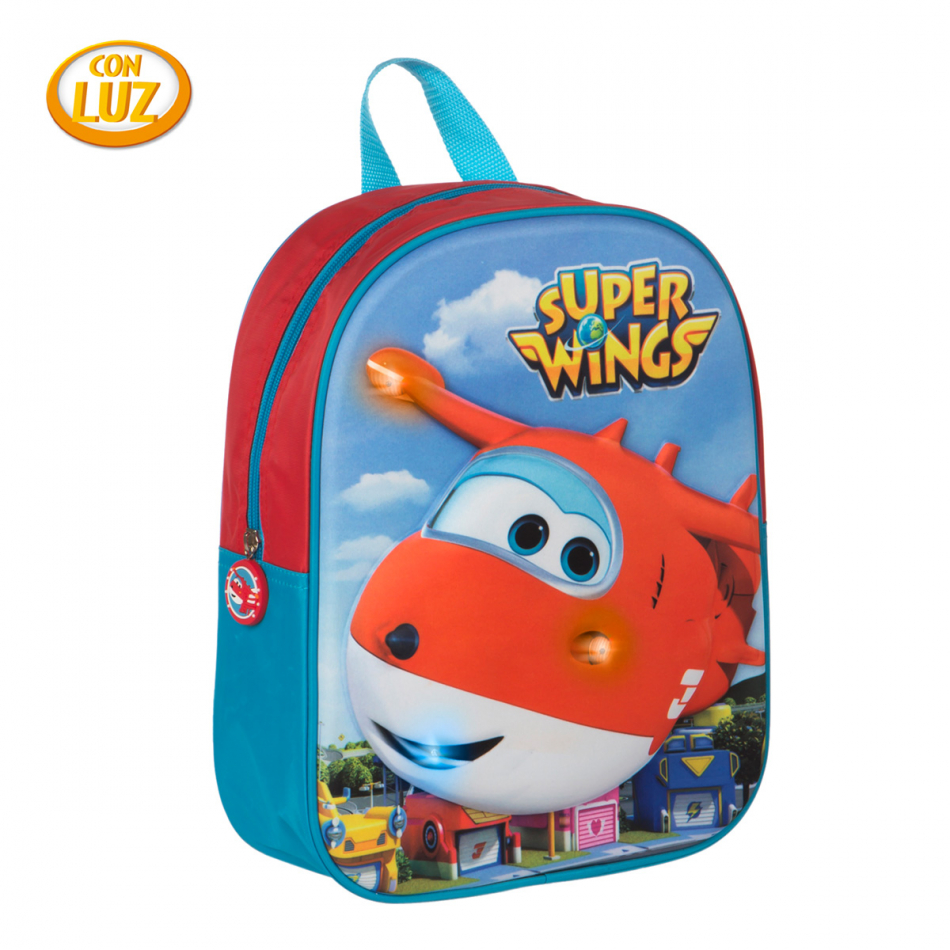 Mochila con led Super Wings Jett