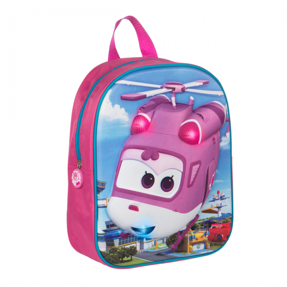 Mochila con led Super Wings Dizzy