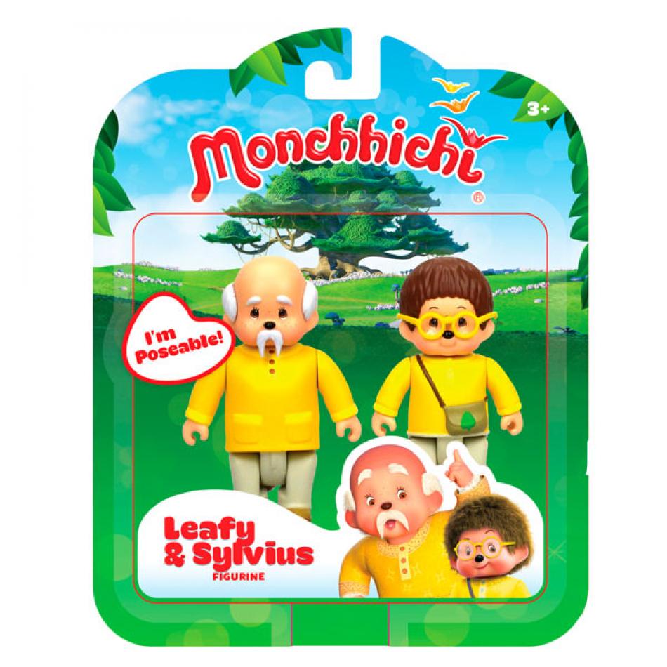 Monchhichi pack 2 figuras Leafy & Sylvius