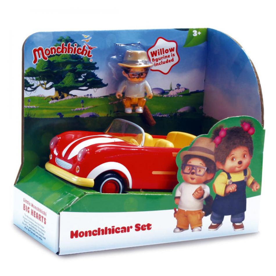 Monchhichicar vehículo con figura