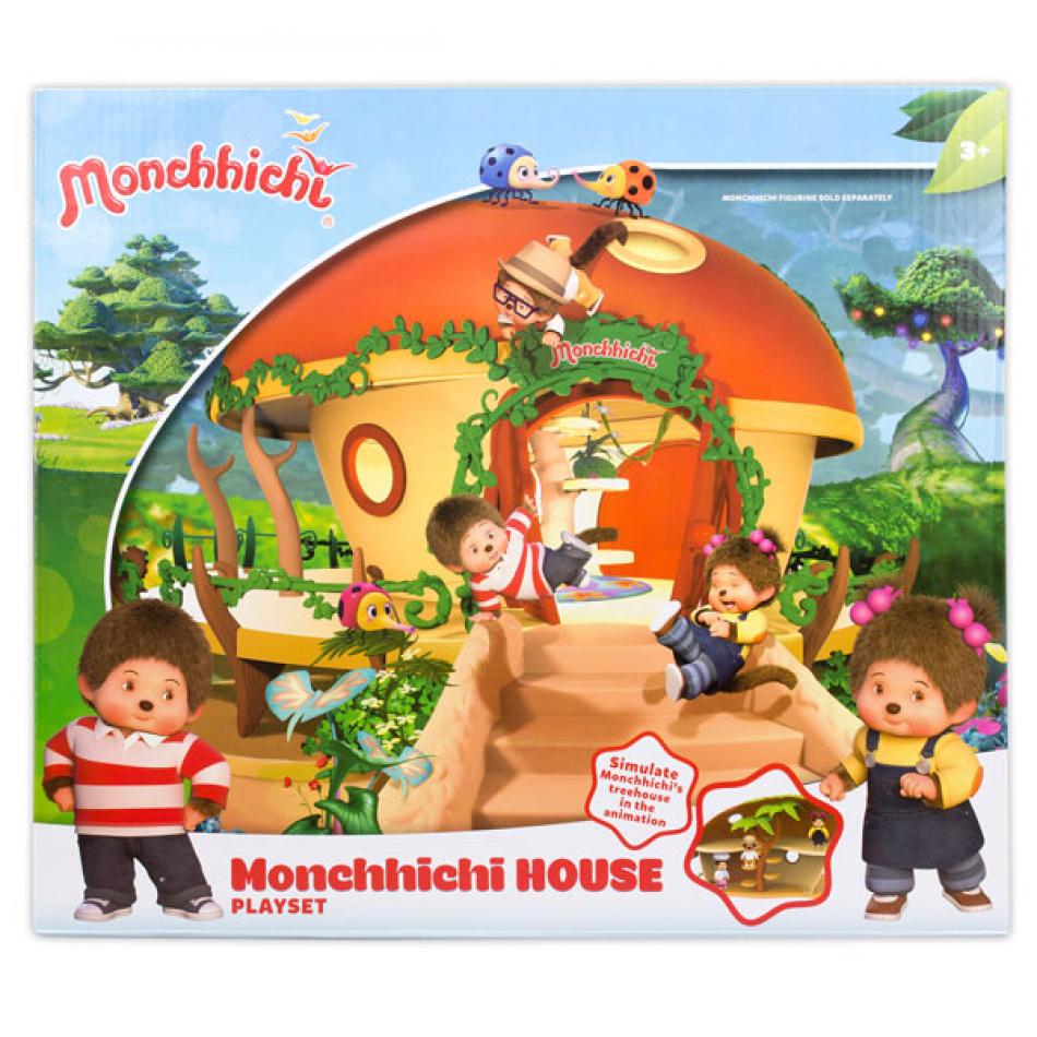 Monchhichi casa playset con figura