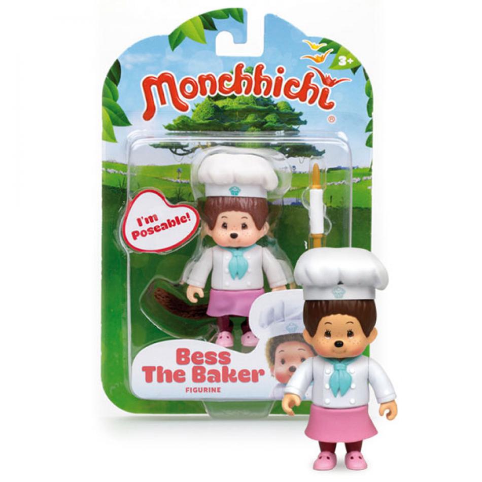Figura Monchhichi modelo Bess the baker