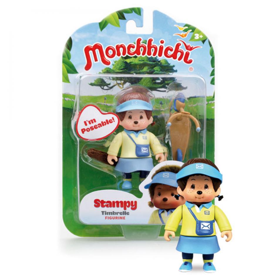 Figura Monchhichi modelo Stampy